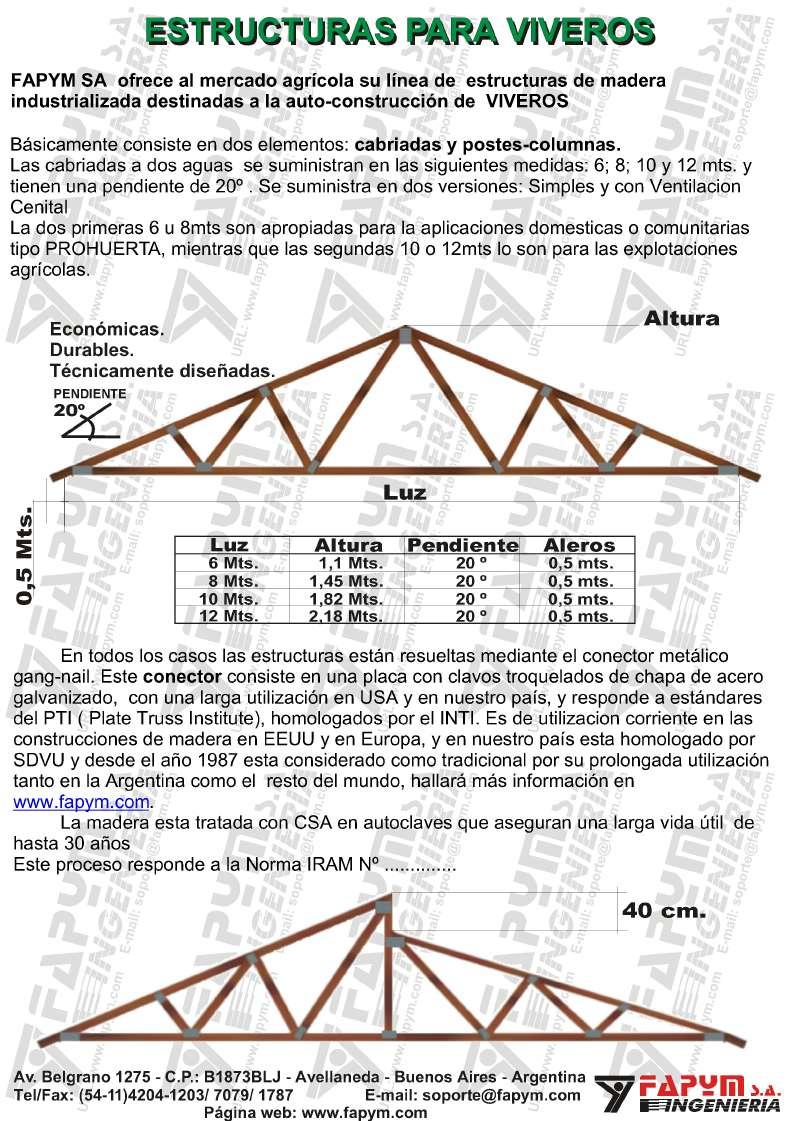 Estructuras Para