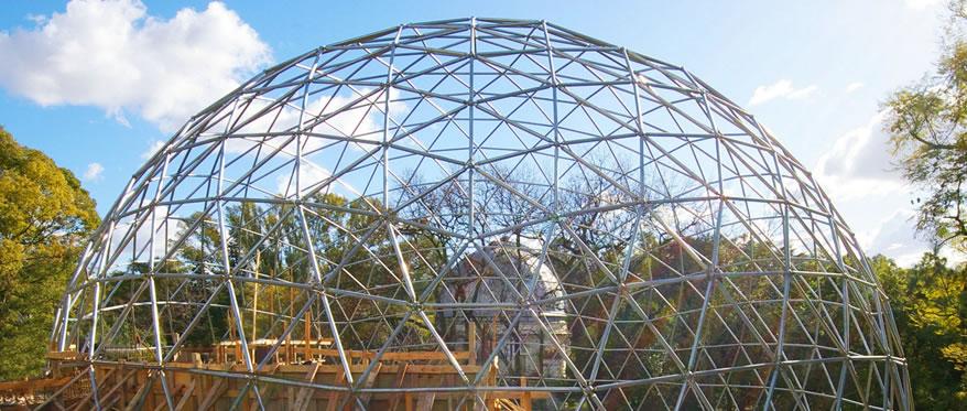 Planetario La Plata. Geodésica