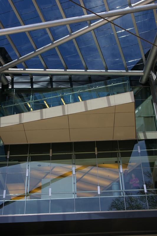 Shopping Recoleta Mall. Revestimiento de vidrio
